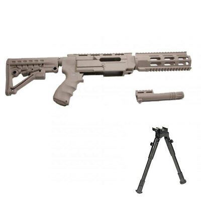 ProMag Archangel Tactical Stock w/Bipod for Ruger 10/22 - Tan without Bayonet