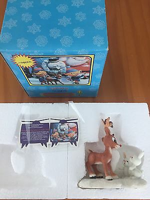 NEW Rudolph Misfit Toys Reindeer Sitting Figurine 725005 With Card Retired MIB