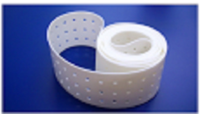 20288600  White Silicone Vacuum Transport Belt with Videojet Cheshire (Set of 3)
