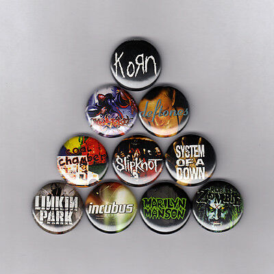Pin Button Badge Ø38mm Korn Nu Metal Alternatif Jonathan Davis