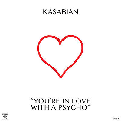 Kasabian YOURE IN LOVE WITH A PSYCHO RSD2017 RECORD STORE DAY VINYL +GOODY BAG
