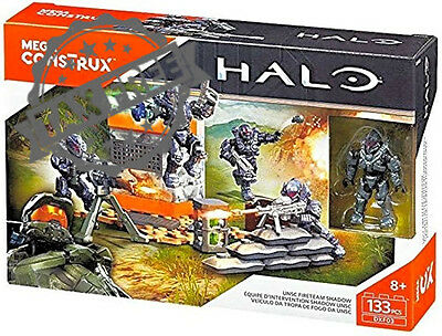 Mega Bloks Construx Halo Spartans of Fireteam Shadow Building Set Action Figures
