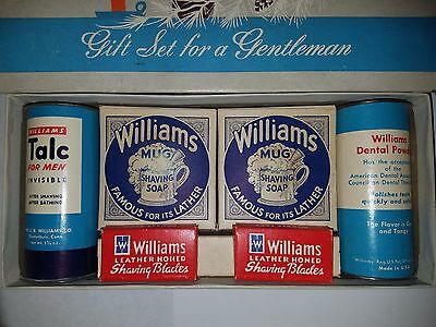 J.B. Williams Company Gift Set - No. 50 Shave Kit - Contents excellent condition