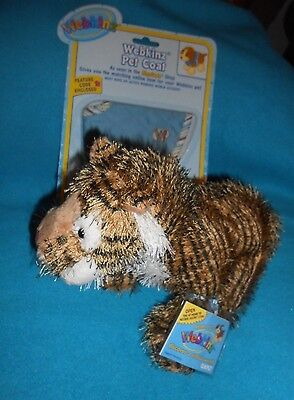 Ganz Webkinz Tiger Pet and Pet Coat - Both NEW with Tags