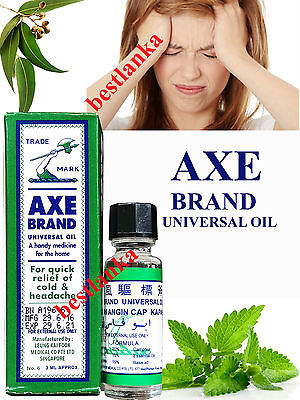 AXE Brand Universal Oil for Cold Headache Stomachache Muscle Pain Insect Bites
