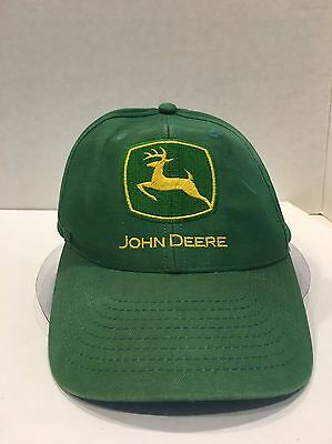 Vintage John Deere Hat Baseball Cap SnapBack Bryant's Tractor Made In USA