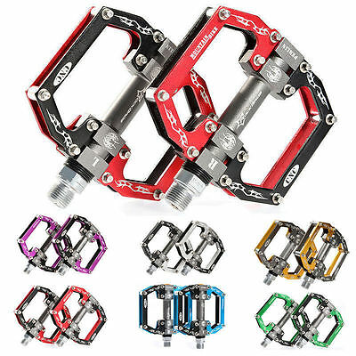 ROCKBROS Bike Bicycle Pedals Cycling Sealed Bearing Pedals Flat/Platform Pedals