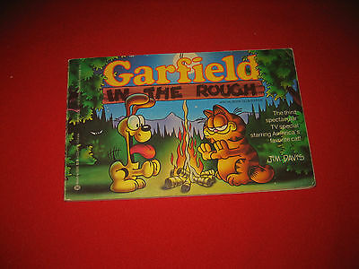 Lot of 3 Garfield books Garfield in the Rough Takes His Licks Pulls His Weight