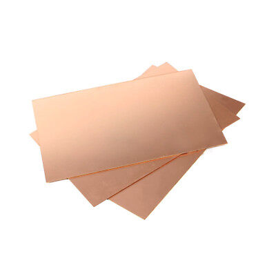 PCB Circuit Board Single/Double Sided Copper Clad Plate Laminate 7x10cm-20x30cm