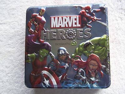 BNIP Woolworths MARVEL Heroes Collectors Tin