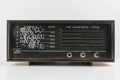 HIs Master's Voice Radio. Vintage. Tested & Working!