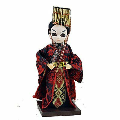 9''/22cm Handmade Asian Doll Peking Opera firgurine-Wu Emperor of Han dynasty