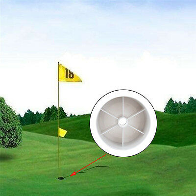 Plastic Golf Hole Cup Putting Putter Yard Garden Golf Training Green Cave Cup
