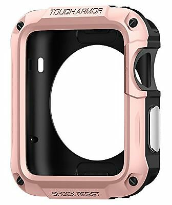 Spigen Tough Armor Apple Watch Series 2 Case with Extreme Heavy Duty Protecti...