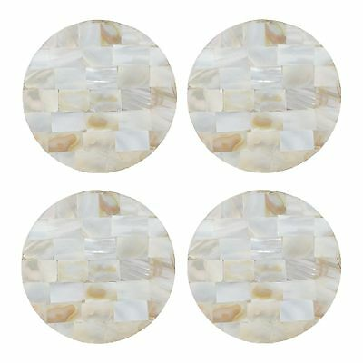 Star By Julien Macdonald Set Of Four Mother Of Pearl Coasters From Debenhams