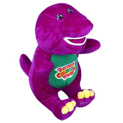 """Singing Friends Dinosaur Barney 12"""" I LOVE YOU Plush Doll Toy Gift For"""