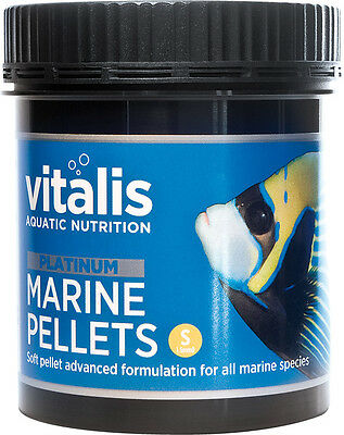 New Era Vitalis PLATINUM Marine Pellets 120g Fish Food 1.5mm Pellets Reef Tank