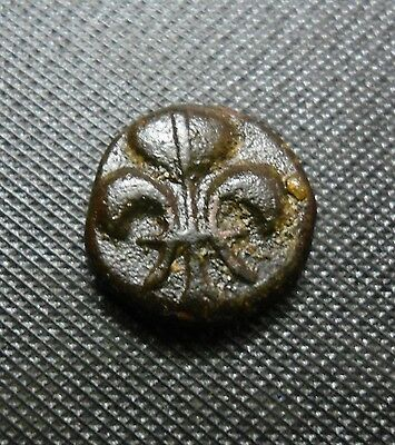 FRENCH INDIA - (Fluer-de-lys)  SYMBOL - DOU DOU  COIN - 1836-1837 - 4.09gm -RARE