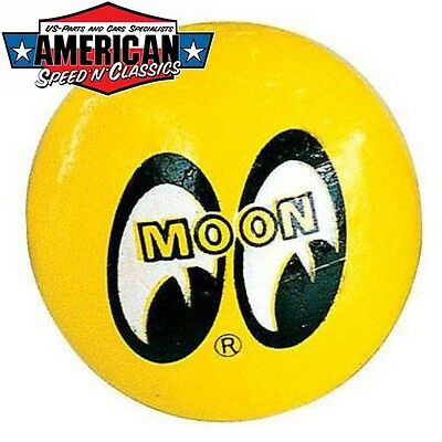 Mooneyes Antennenball Gelb antenna topper Hot Rod Kustom Surf yellow