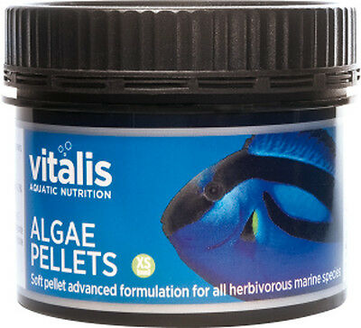New Era Vitalis Algae Pellets XS 60g - Sinking Fish Food 1mm Pellets Marine