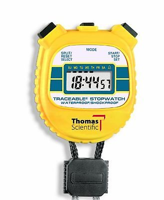 Thomas 1042 Traceable ABS Plastic Shockproof and Waterproof Stopwatch with LC...