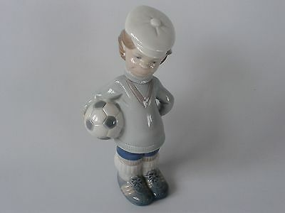 Lladro 'Soccer Football Player puppet 4967 - Perfect