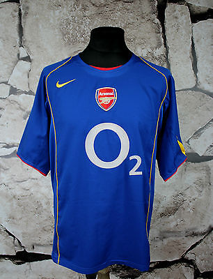 NIKE ARSENAL _ Football Shirt Jersey 2004/2005 Away SIZE L ( 89 )