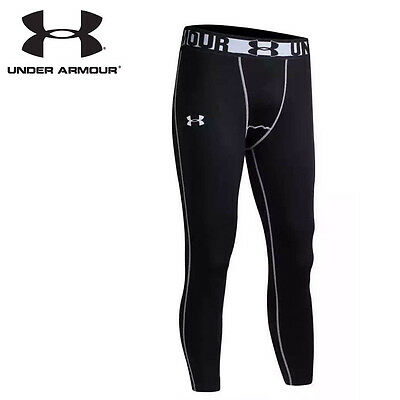 New Under Armour Men - Women Compression Tights pants Sports Color - Black Gray