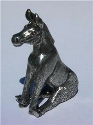 Donkey Figurine Heavy Hand Protector Card Guard Poker Metal NEW