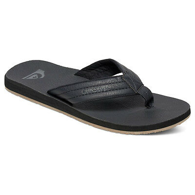QUIKSILVER NEW Mens Black Carver Nubuck Sandals BNWT