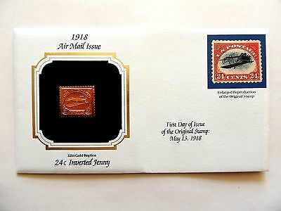 """May 13th, 1991 """"Inverted Jenny"""" Air Mail Issue Of 1918 First Day Cover"""