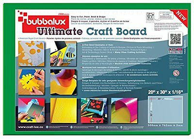 CLTE-FCBU2030GN2-Ultimate Craft Board in Forest Green - Set of 2