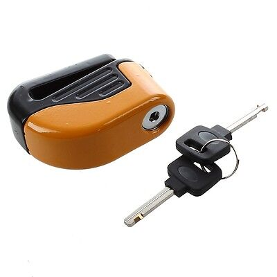 AF Blocked Disc Lock Alarm stainless steel universal motorcycle safety