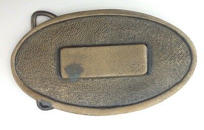 Name Plate Style Belt Buckle Classic Vintage American Retro