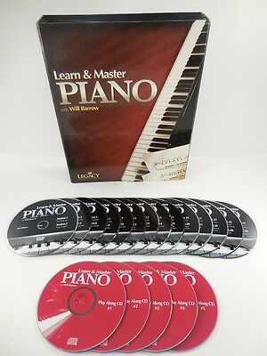 Learn & Master Piano with Will Barrow [5 CDs and 14 Instructional DVDs]