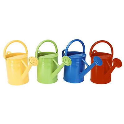 Panacea 84830 Metal Traditional Painted Watering Can, 4-Liter or 1-Gallon, 4 Ass