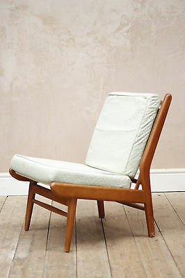 Vintage Retro Mid Century Scandart Easy Chair/ Tub Chair (upholstery Project)