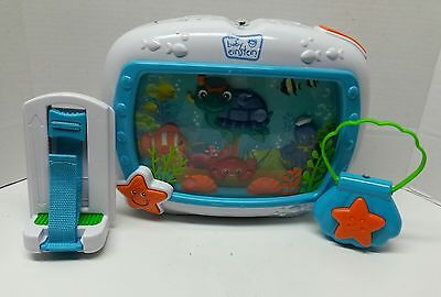 Baby Einstein SEA DREAMS Ocean Water Aquarium Fish Baby Crib Soother Music Toy