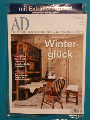 AD  Dez/Jan 2017 Architectural Digist Stil Design Kunst&Architektur ungel. 1A