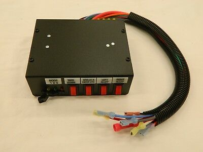 Federal Signal SW400SS (7) Position Function Switch Box Module *New/Other*