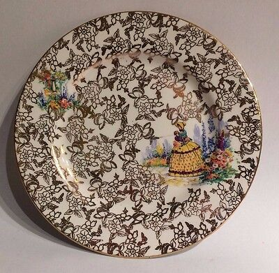 """Vintage Nelson Ware Side Plate Chinzware Design Bcm 7"""""""