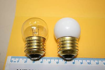 GLOBES LAMPS ES 110 120 Volt 7.5 watt Rowe Rock-Ola Bubbler x 3 juke jukebox