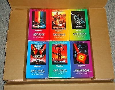 Star Trek The Original Series Complete Set of Six Cinema Collection