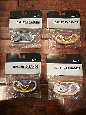 NIKE BALLER ID BANDS Packs Adult Band Multi Color Green Pink Blue Yellow White