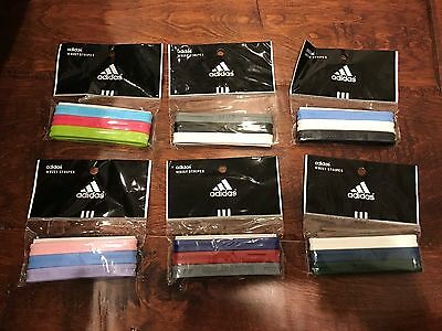 Adidas BALLER ID BANDS Packs Adult Band Multi Color Green Pink Blue Yellow White