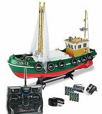 Carson RC North Sea Fishing Boat With Nets Model 1:24 500108014 Genuine New