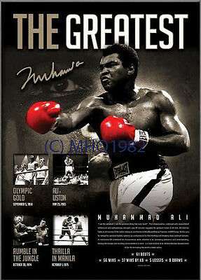 Muhammad Ali Signed The Greatest Boxing Limited Edition Print Only + COA