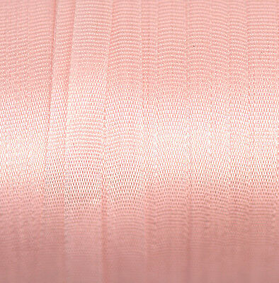 4mm Silk Ribbon Pure Pink Embroidery - Pastel Pink 606 - 3 mtr