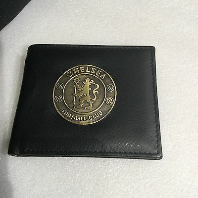 CHELSEA FC Wallet / Purse; Excellent Design With Great Logo Badge On Front