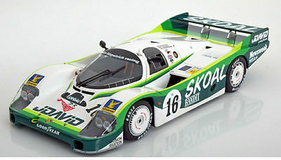 Minichamps Porsche 956L No.16 24h Le Mans 1983 Skoal Model Car 1:18 Genuine New